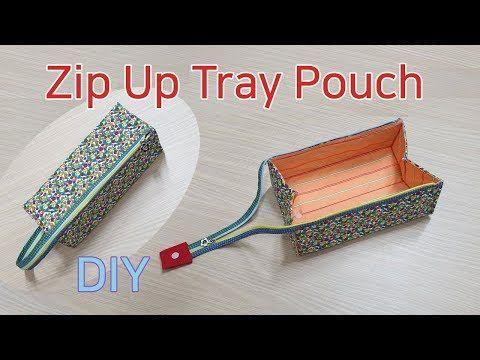 DIY Pencil case/Zipper pouch tutorial /지퍼파우치 만들기/필