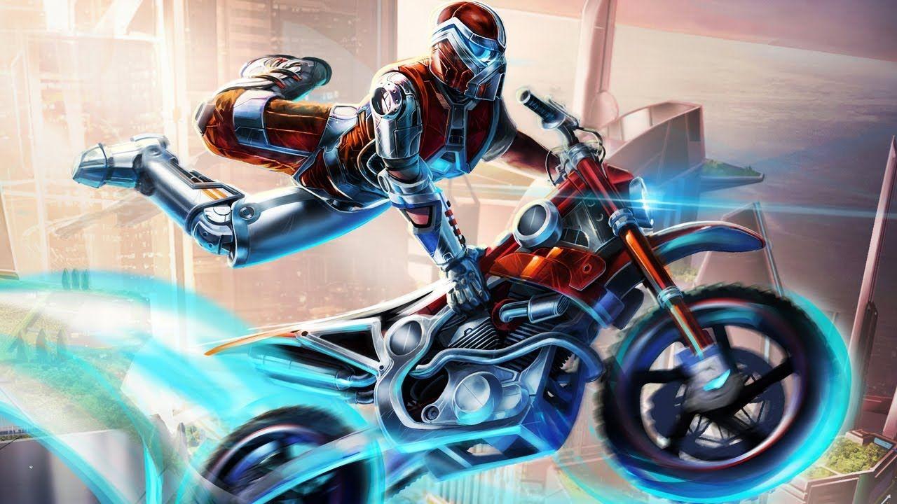 Trials Fusion est un jeu mêlant course et platesformes