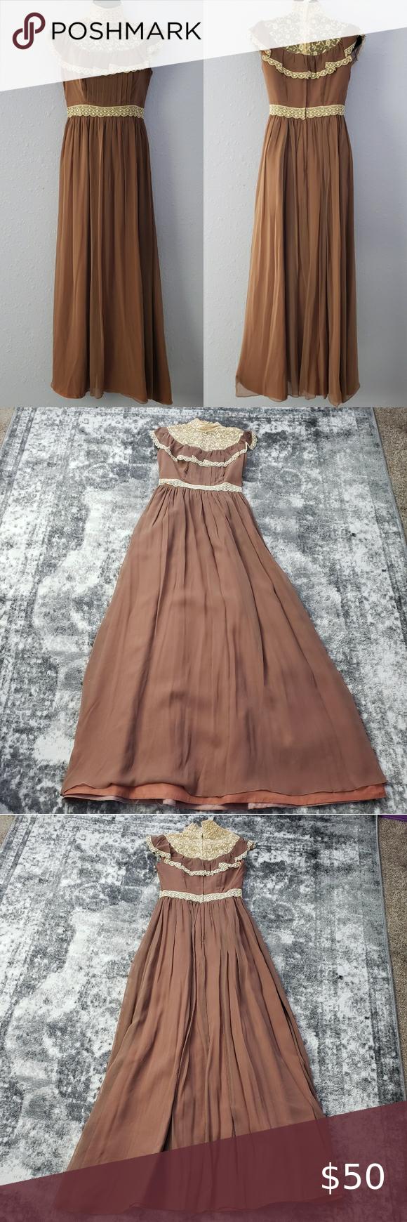 Vintage Homemade Prom Formal Dress 1970 S 70 S Formal Dresses Prom 1970 Dress Formal Dresses [ 1740 x 580 Pixel ]