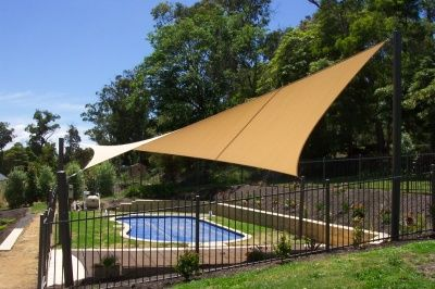 Canopy shades aesthetic sun protection  Swimming Pool OnLine & Canopy shades aesthetic sun protection : Swimming Pool OnLine ...