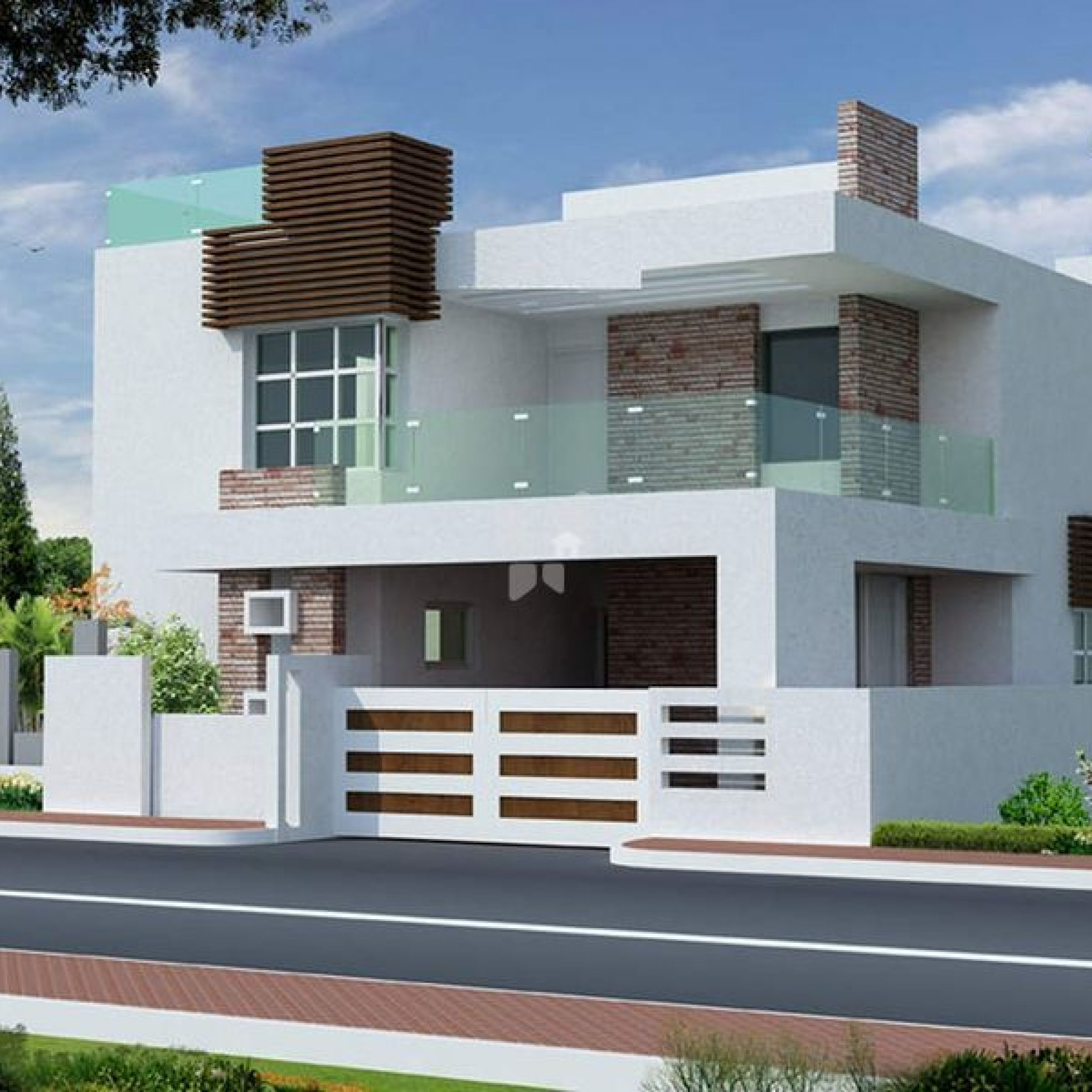 Modern Home Elevation Designs: ICYMI: Front Design Of Building In India