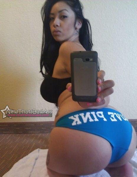 huge booty asian