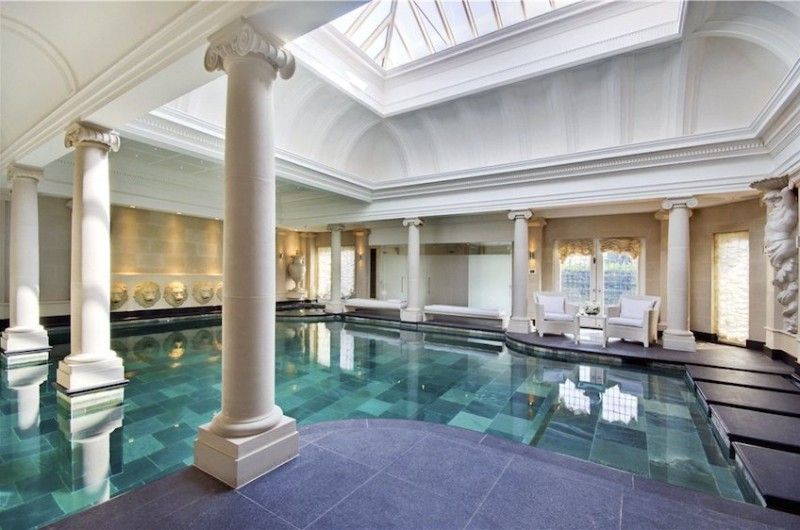 Opulent Mansion In Lyndhurst Road London Luxury Pools Indoor Pool Mansions