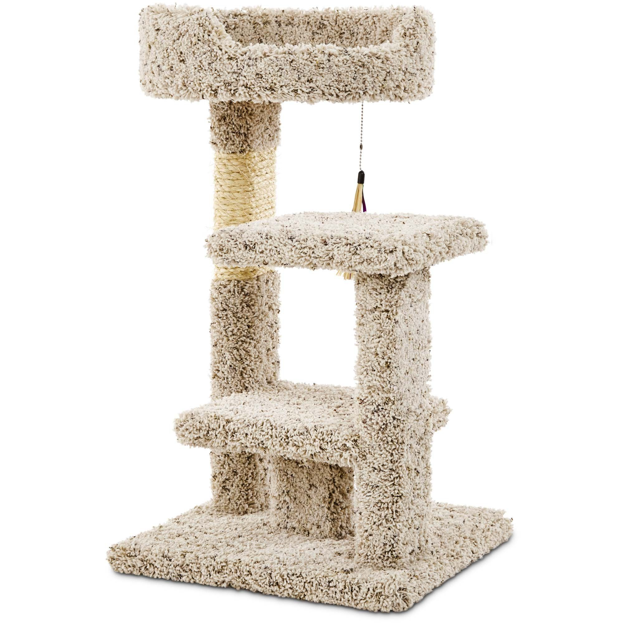 You & Me Kitty Play Yard with Toy, Regular, OffWhite