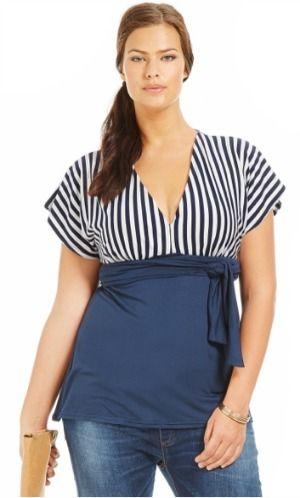 tunique grande taille 2013 Les beaux jours reviennent, la mode grande  taille tendance est déjà sur Scarlett fr 1f132c04903a