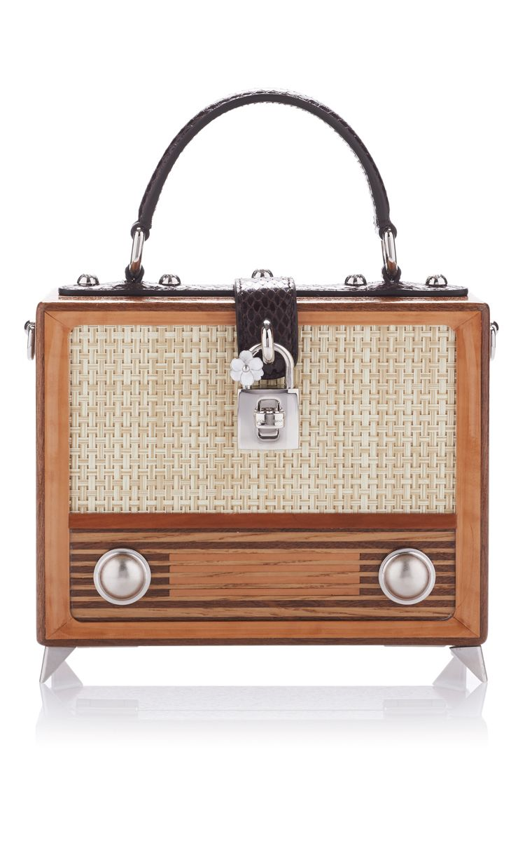 1febb1f2df Vintage Radio Box Bag by DOLCE & GABBANA for Preorder on Moda Operandi