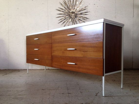 vista of california mid century modern dresser credenza eames nelson era 1960s dresser bedroom furniture