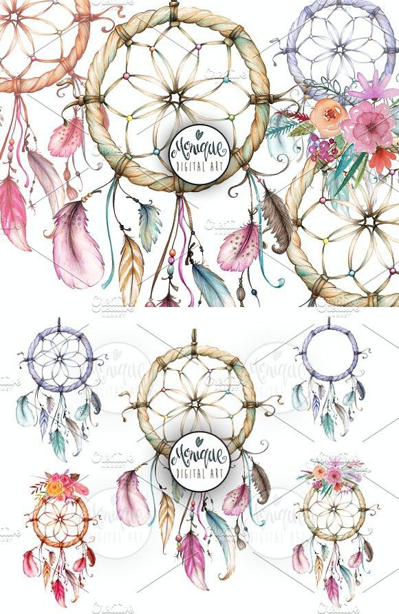 Dreamcatcher Clip Art Water Colour Calendar Templates Calendar