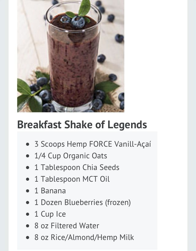 Breakfast Shake of Legends.  *note: there's a little stevia in this. And skip the oats to make it NSNG!