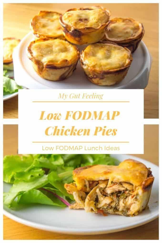 Low FODMAP Leftover Chicken Pies - My Gut Feeling - Low FODMAP recipes  - Low FODMAP Recipes & Reso