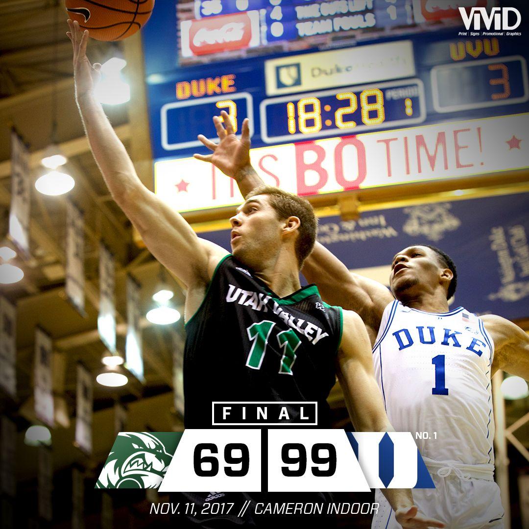 Uvu Basketball Vs Duke Score Graphic Final Toughest24 Basketball Finals Street Basketball Utah Valley University