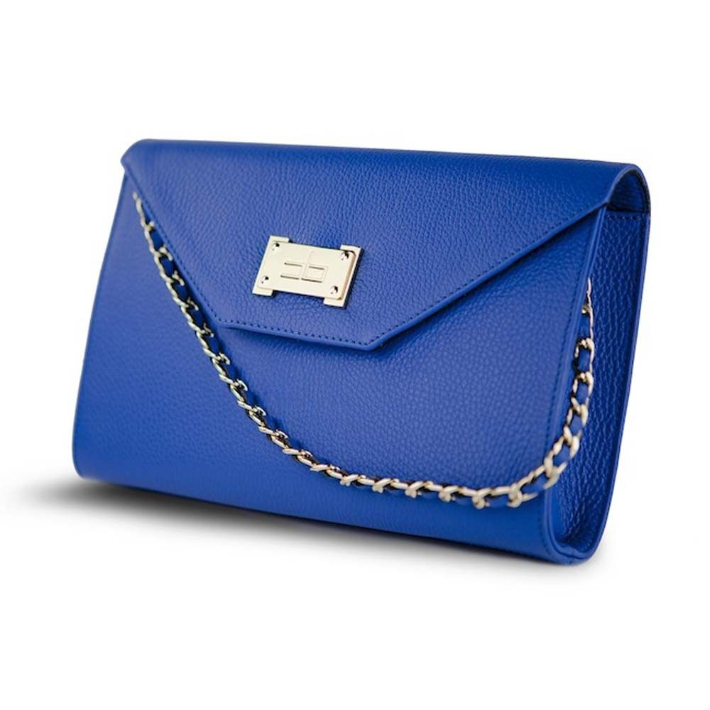 Courage B Iconic Clutch In Electric
