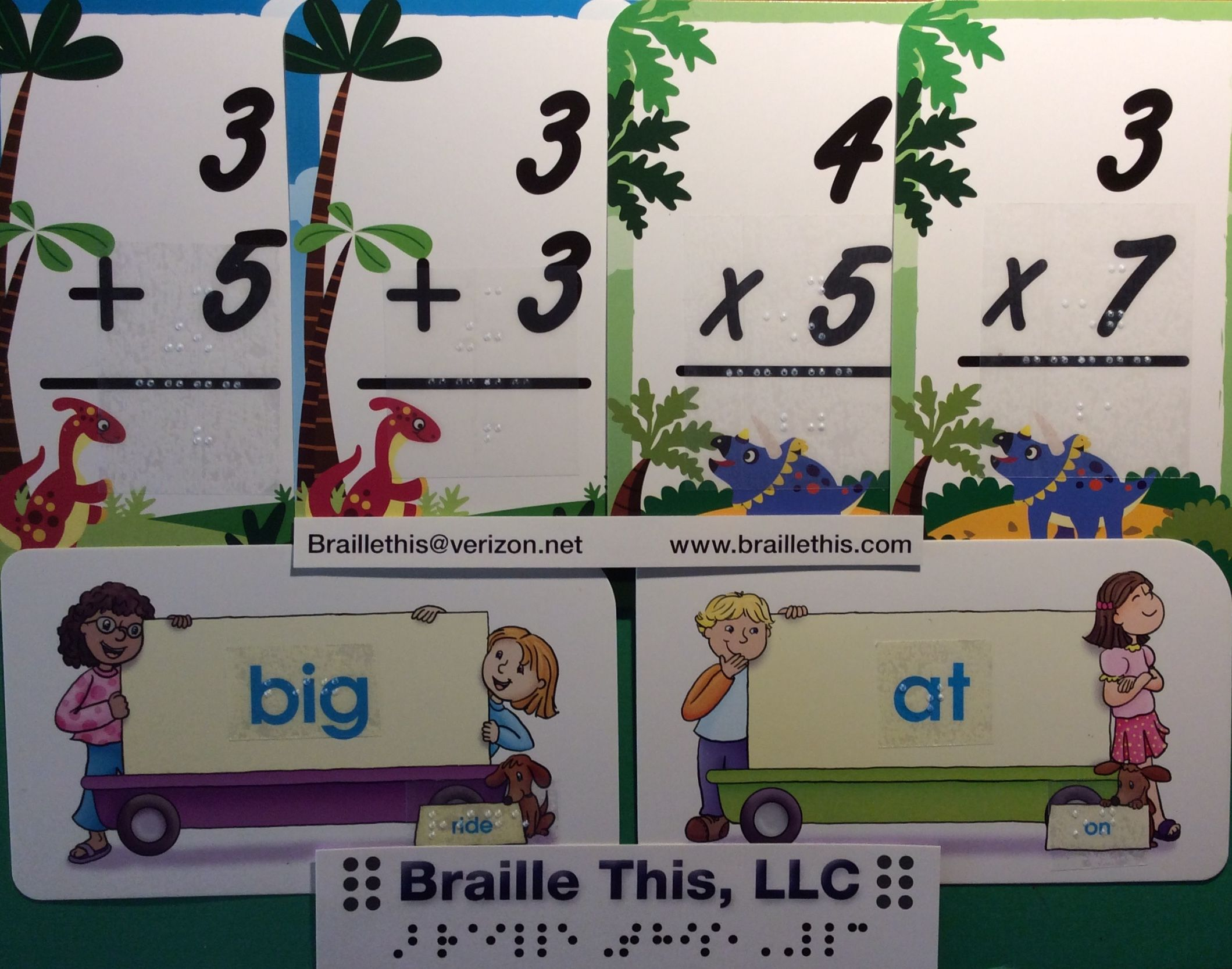 Need Braille Flashcards Spelling Words Or Teacher Made