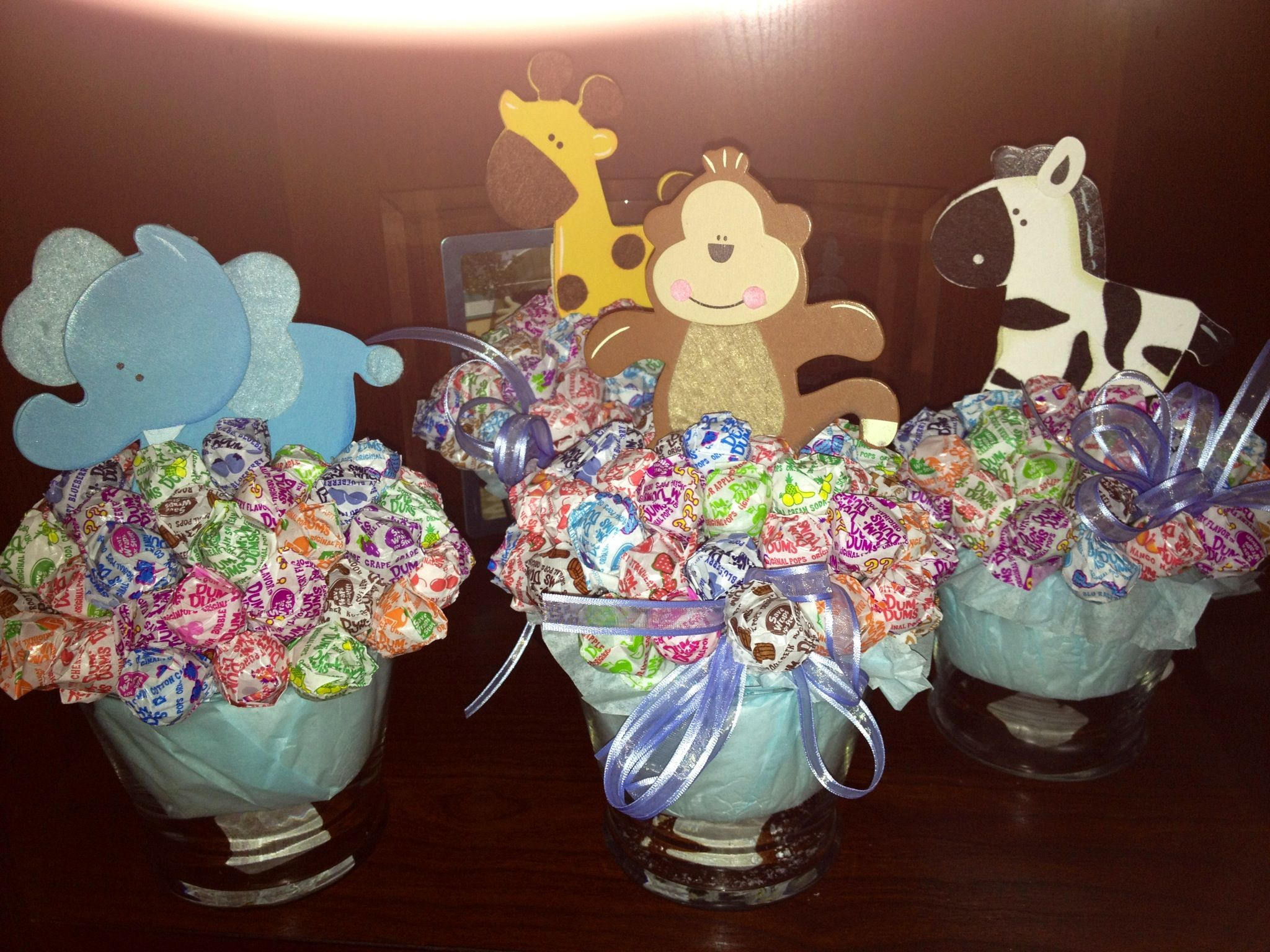 Candy Table jungle theme Boy baby shower Pinterest