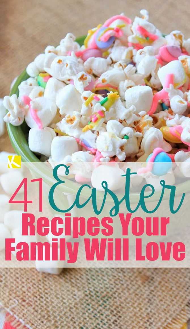 41 Cute Easter Recipes Your Family Will Love - The Krazy Coupon Lady