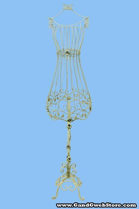 Vintage wire mannequins | boutique design ideas | Pinterest | Dress ...