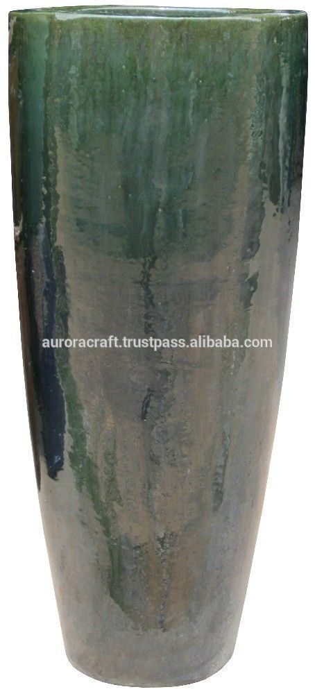Where To Buy Ceramic Pots Part - 35: Tall Outdoor Large Glazed Ceramic Planter. - Buy Large Ceramic Flower Pots,Glazed  Pottery Pots,Large Outdoor Glazed Ceramic Pot Product On Alibaba.com