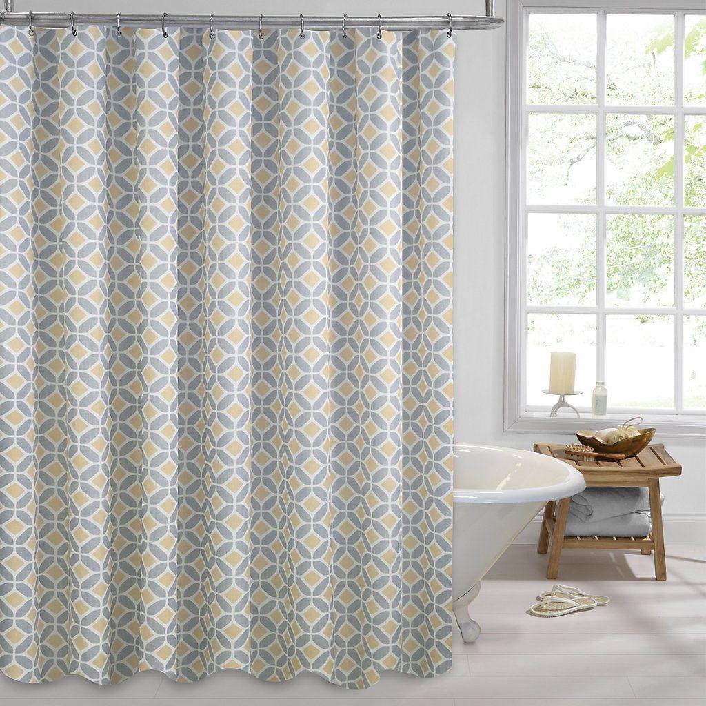 Colordrift Inner Circle Shower Curtain | Buy Me, Maybe | Pinterest