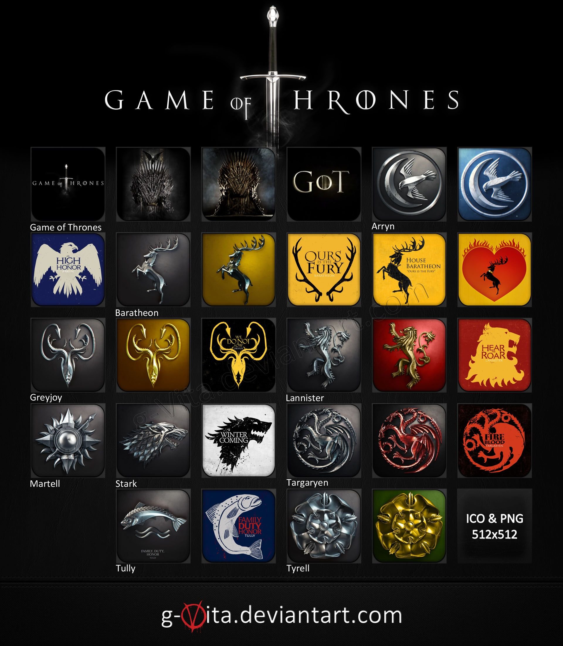 Game of thrones icons dreamwidth