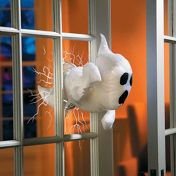 Improvements Halloween Animated Window Crasher (£19) ❤ liked on