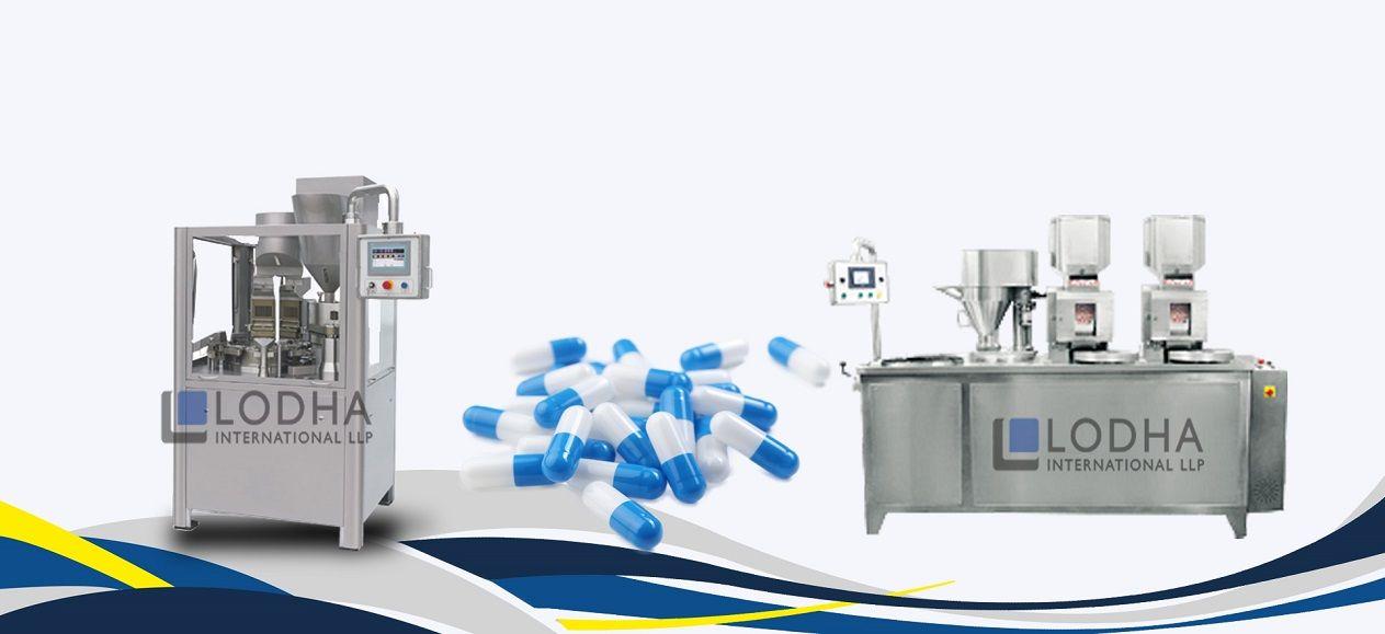 Capsule Filling Machine Manufacturer Capsule Filling Machine Exporter Lodha International Llp Capsule Capsule Machine Manufacturing