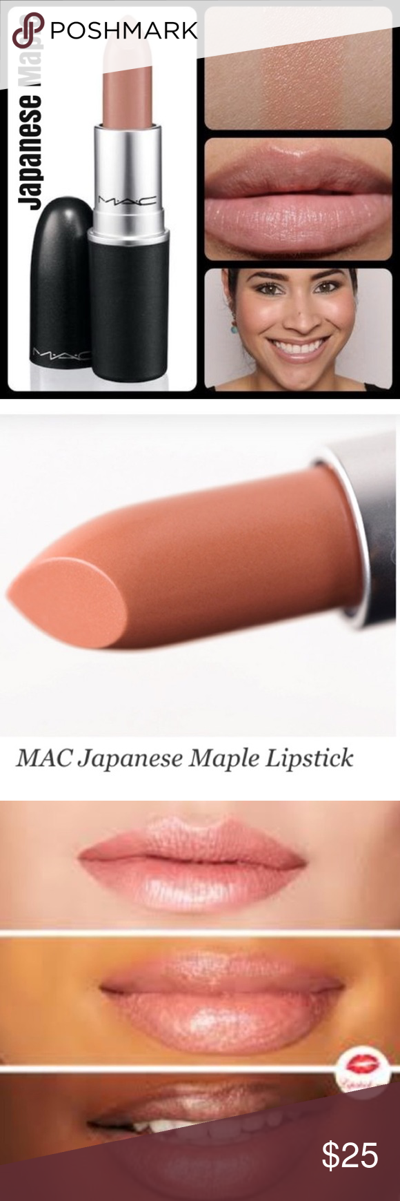 HP 11/27🎉RESTOCKED! MAC LipstickJapanese Maple NWT Mac