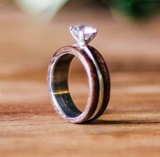 This wedding ring has an inner band material (select metal type in Material…