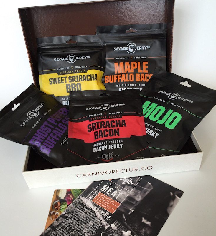 Carnivore Club Subscription Box Review + Coupon July