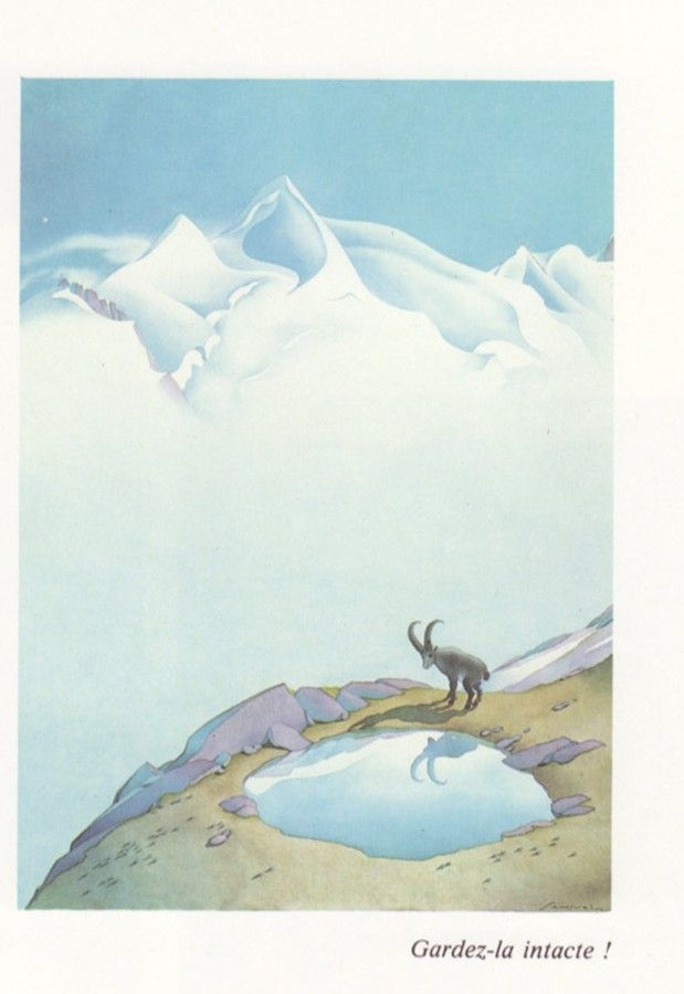 Samivel Dessin Montagne Art Et Illustration Illustration
