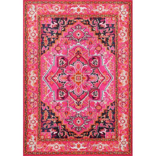 Found it at Joss & Main - Sashi Pink Area Rug | Playroom | Pinterest ...