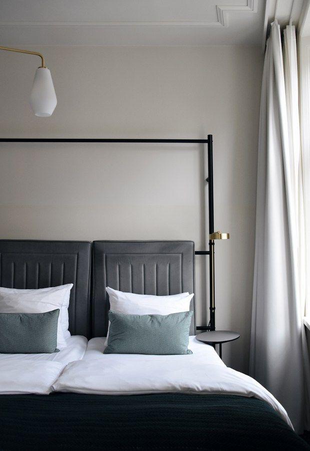 A stay at Copenhagen's Hotel Danmark Bedroom