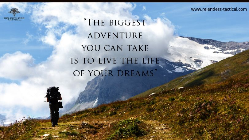 The biggest ‪#‎adventure‬ you can take is to live the ‪#‎life‬ of your dreams. ‪#‎QOTD‬