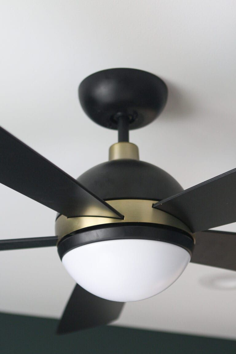 Peregrine Industrial Ceiling Fan Brushed Satin Finish With Matte