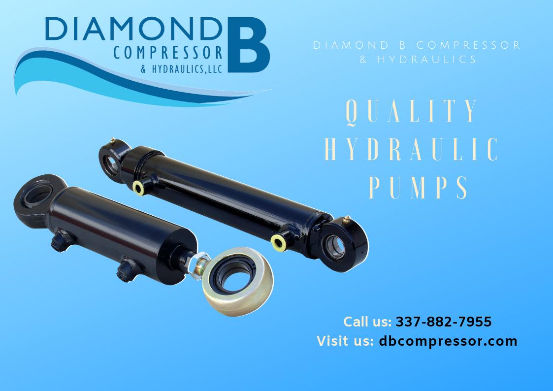 Texas Marine Services Hydraulic pump, Air compressor, Pumps