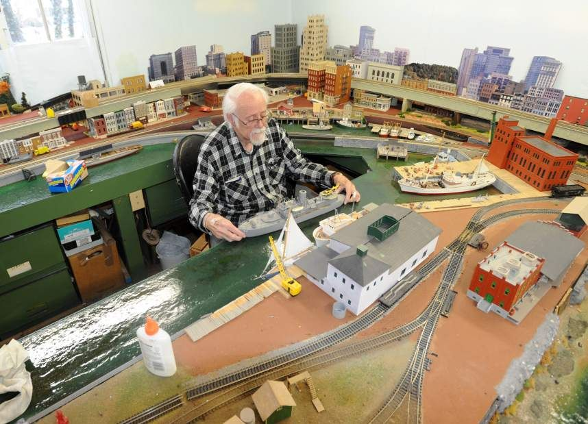 our model railroader since 1950