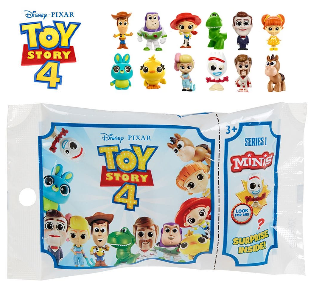 Disney Pixar Toy Story 4 Small Plush *CHOOSE YOUR FAVOURITE*