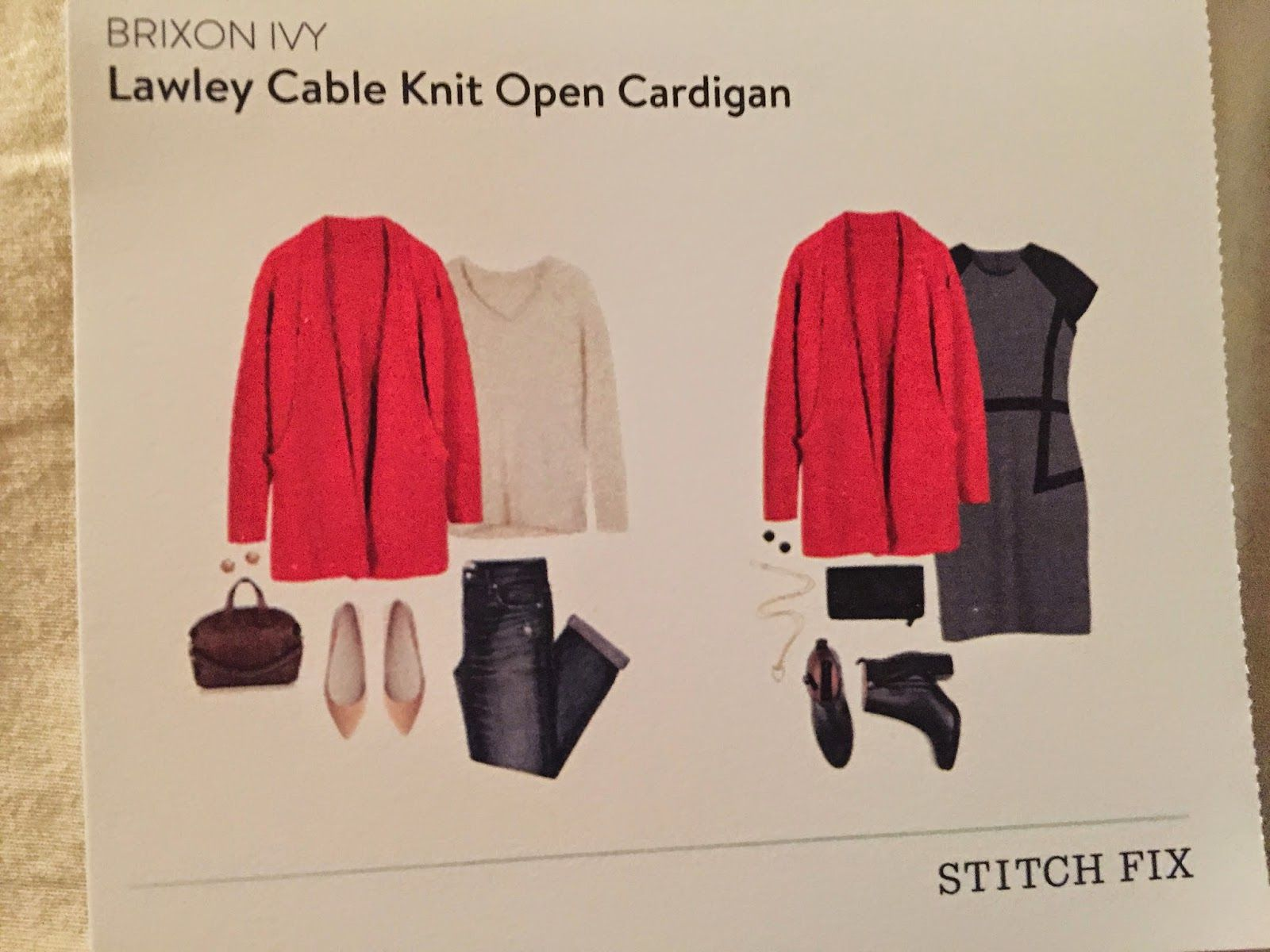 Brixon Ivy Lawley cable knit open cardigan - 2.5.14 yeahhhh ...