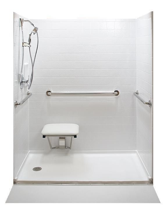 Great Home Or Commercial Roll In Shower Ada Accessible Design Tub To Shower