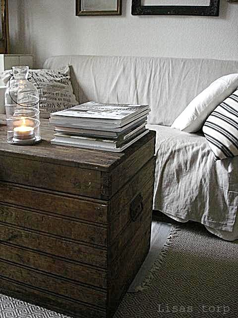LOVE old trunks used as coffee tables! | Home Sweet Home ...