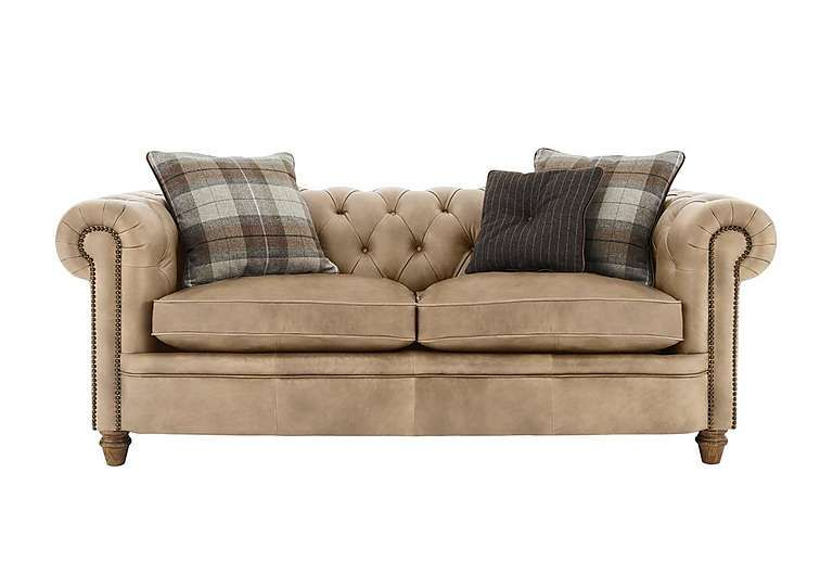 Furniture Village New England Newport 2 Seater Leather Sofa Lavish Buttoning For T With Images Leather Sofa Furniture 3 Seater Leather Sofa Small Leather Chesterfield Sofa