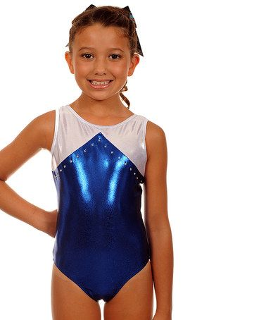 This Sapphire Mystique Amanda Leotard & Hair Tie - Girls by TumbleWear is perfect! #zulilyfinds