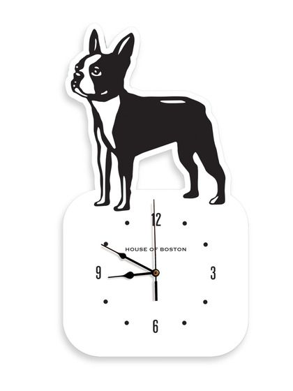 I know a couple of people who need one of these. House of Boston Wall Clock by Naked Decor at Gilt