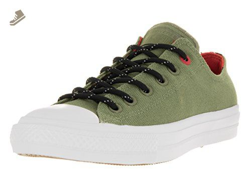 bc3983048ce8 Converse Unisex Chuck Taylor All Star II Ox Fatigue Gree Basketball Shoe 5  Men US 7 Women US     Read more at the image link.