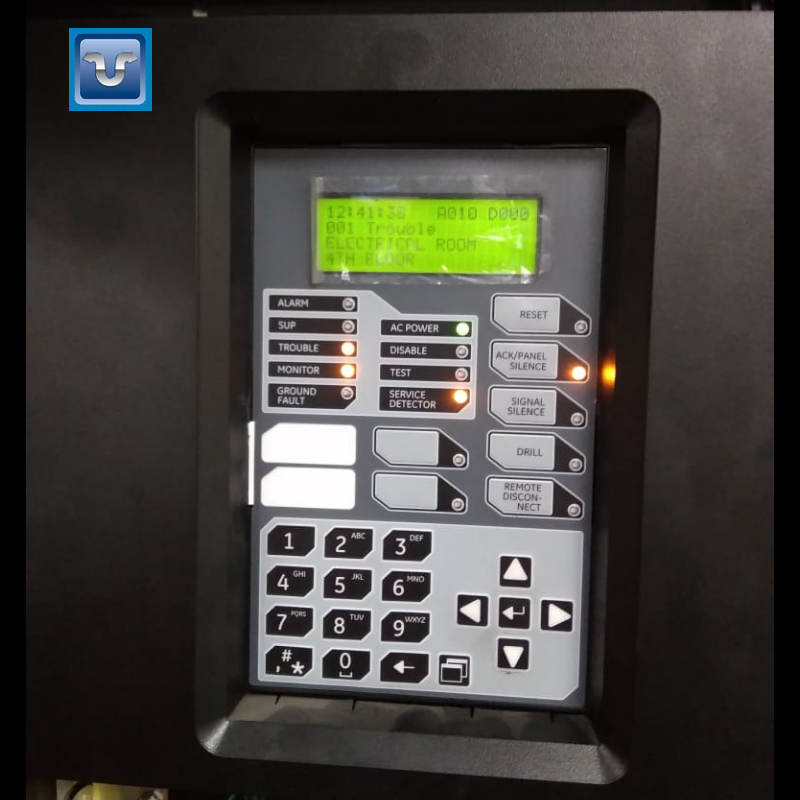 ServiceUpdate A complaint of Fire Alarm Panel resolved by