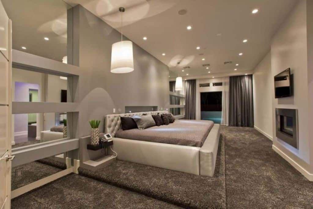 Modern Master Bedroom Decorating Ideas Modern Luxury Bedroom
