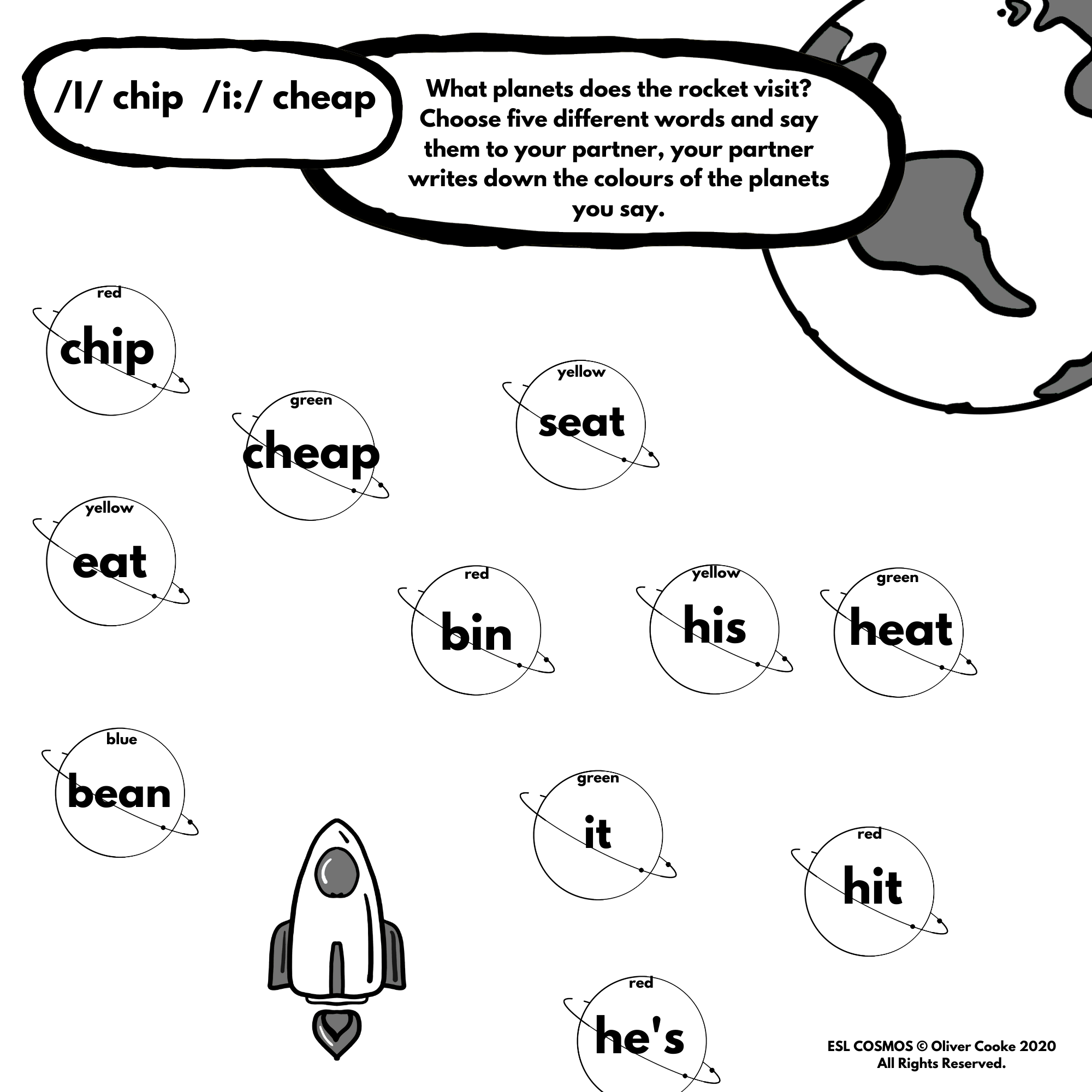 Phonics And Pronunciation Game For Esl