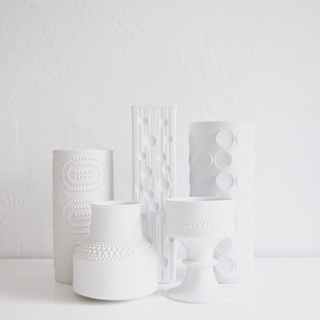 A personal favorite from my etsy shop httpsetsylisting vintage white porcelain vase winterling west german matte white porcelain dot vase home decor floridaeventfo Choice Image