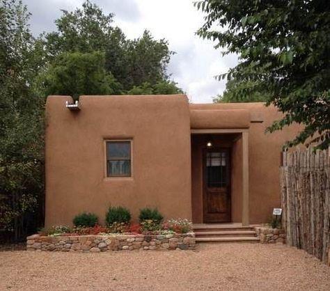 Casita Especial Casas De Santa Fe Furnished Luxury Vacation Rental Home In Santa Fe New Mexico Mud House Cob House Village House Design