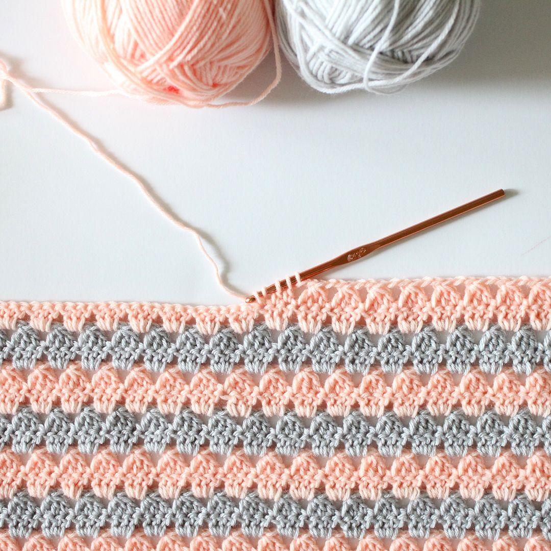Pin de Anıl en bebek battaniyesi | Pinterest | Muestras de crochet ...