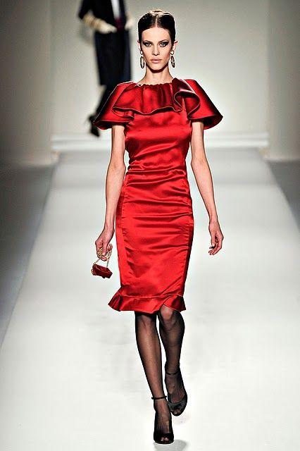 d439449385 Moschino Fall 2011 RTW | MY PARIS APARTMENT | Moda para mujer ...